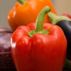 Sweet Bell Pepper and Lime Salsa